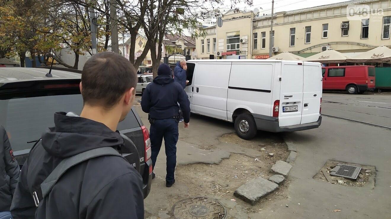 Масштабная эвакуация автомобилей в Одессе