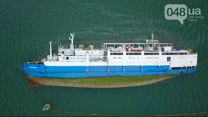 Корабль Queen Hind потерпел крушение у берегов черного моря - ФОТО: ВВС