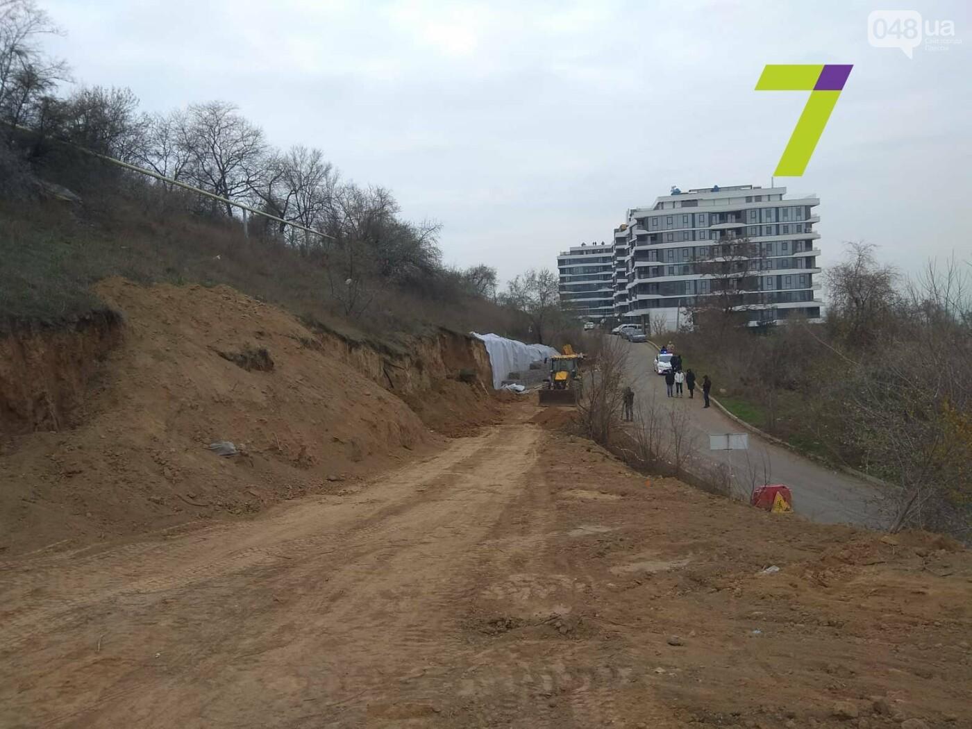 В Одессе обрушился склон, - ФОТО, фото-6
