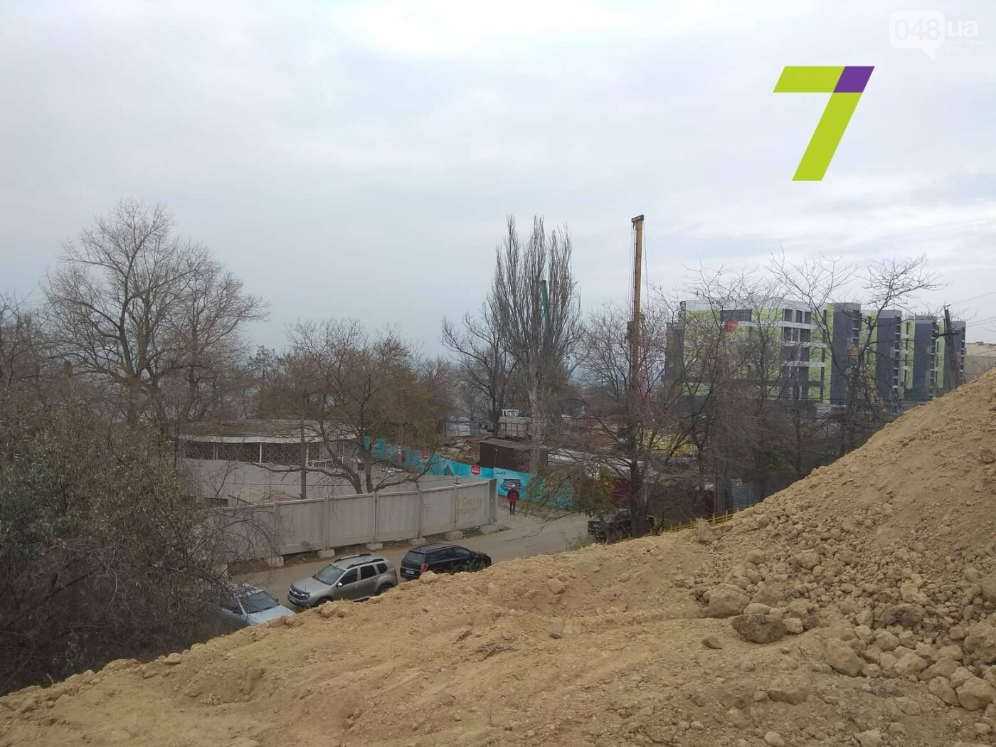 В Одессе обрушился склон, - ФОТО, фото-9