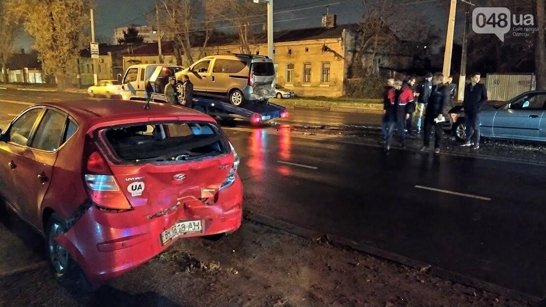 Крупная авария на Люстдорфской дороги.