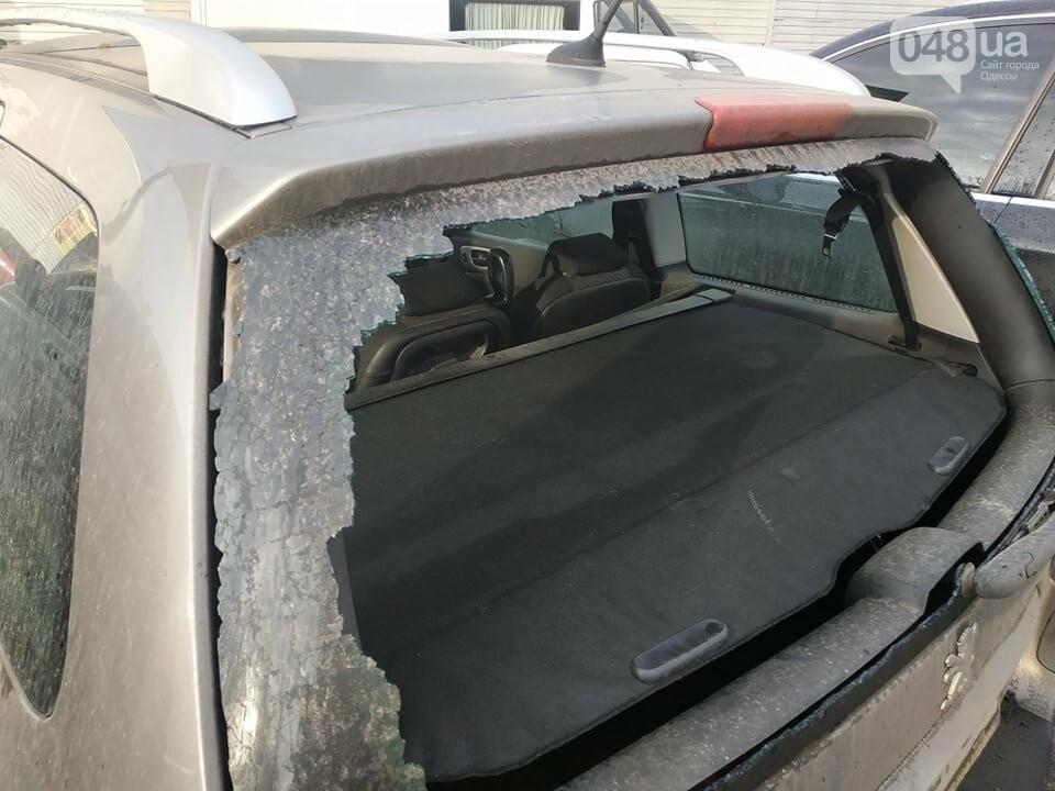 Одесскому эко-активисту разбили стекло автомобиля, - ФОТО, фото-1