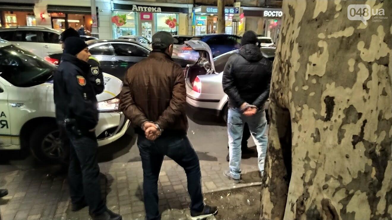 Задержание на Ришельевской в Одессе