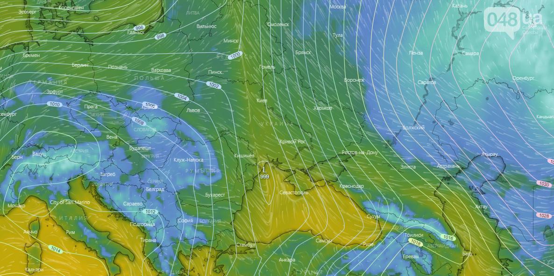 Погода в Одессе на неделю - Windy.com