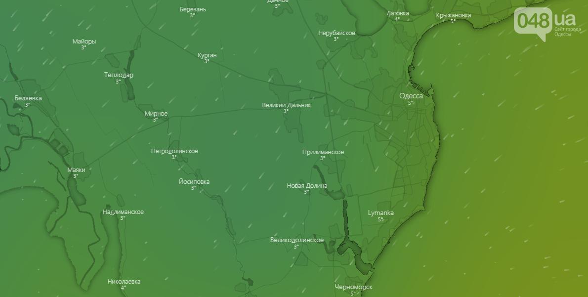 Погода в Одессе на неделю, 19 декабря - Windy.com