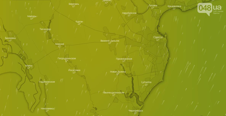 Погода в Одессе на неделю, 21 декабря