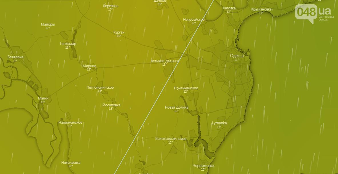 Погода в Одессе на неделю, 22 декабря