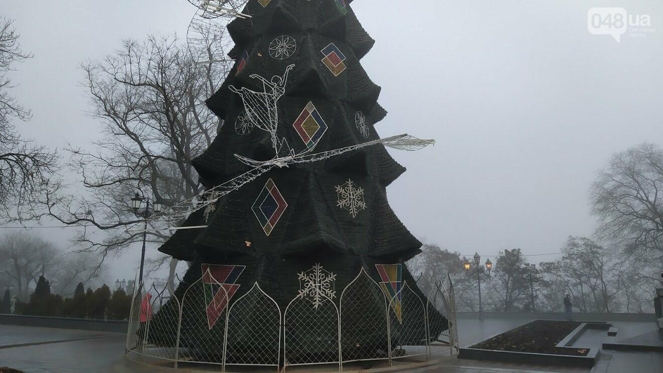 Главная новогодняя елка 2020 года в Одессе.