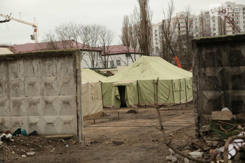 В Одессе штаб командования ВМС переезжает в палатки, - ФОТОРЕПОРТАЖ, фото-2