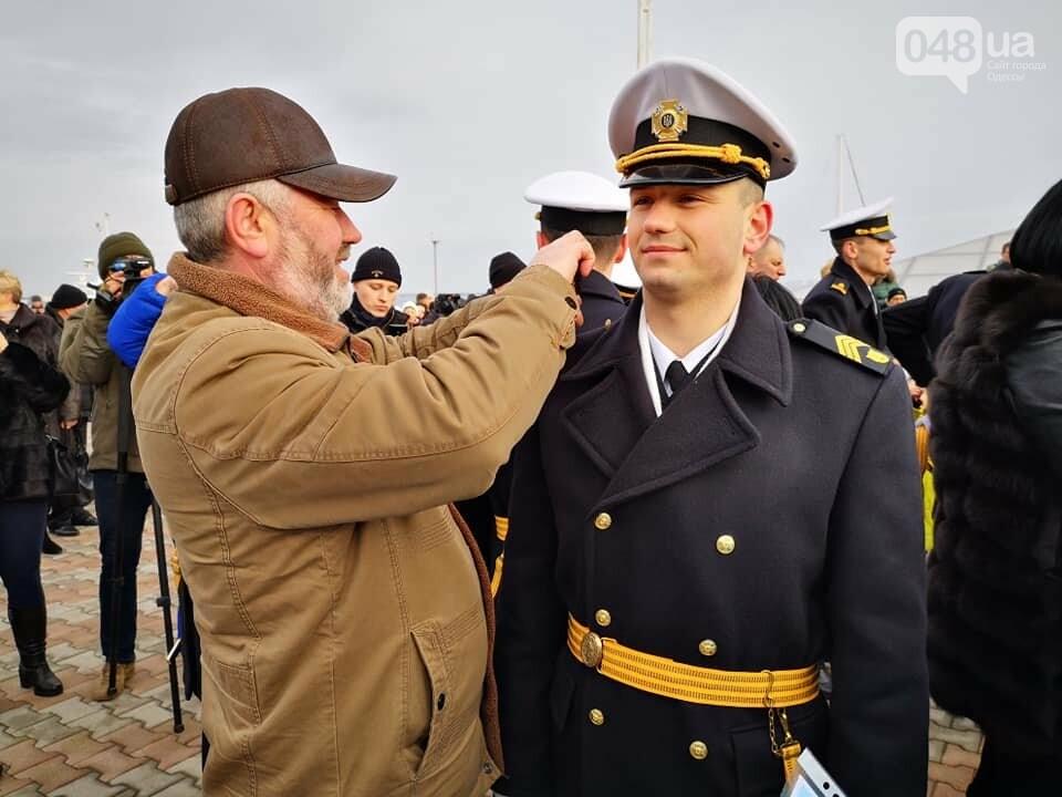 Торжественный выпуск молодых офицеров на Морвокзале