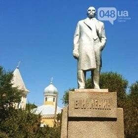 Памятник Ленину в с. Голица