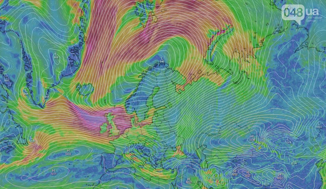 Погода в Одессе сегодня, 11 февраля.