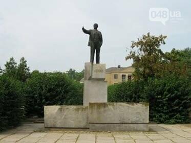 Памятник Ленину в с. Виноградовка