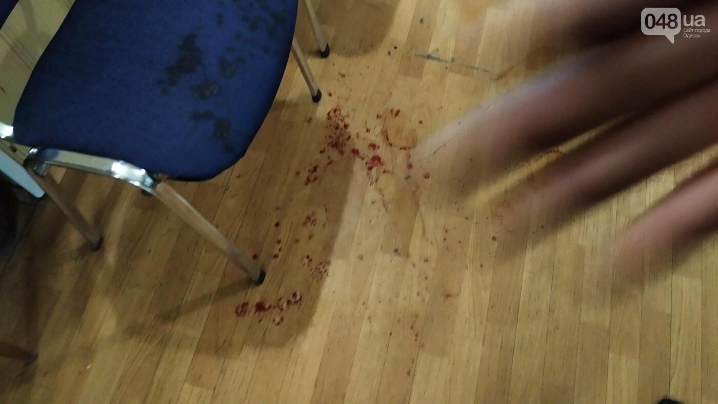 Парикмахерская в которой произошла стрельба.