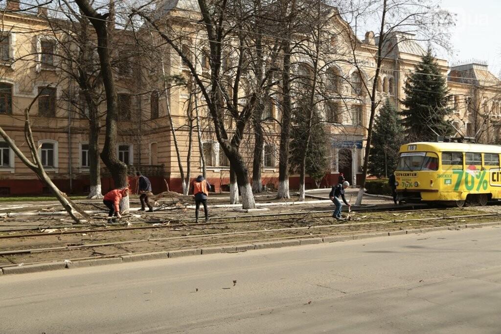 Шторм и пыльная буря в Одессе