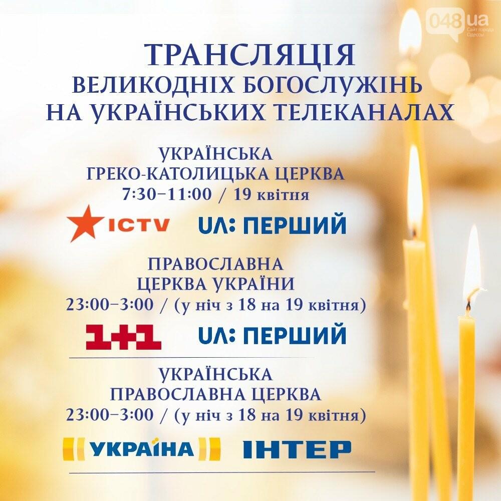 Расписание пасхальных телетрансляций., Офис Президента.