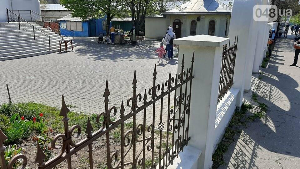 Карантин в Одессе: жители Киевского района не особо активно идут освящать паски, - ФОТО, фото-10