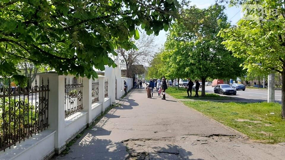 Карантин в Одессе: жители Киевского района не особо активно идут освящать паски, - ФОТО, фото-11
