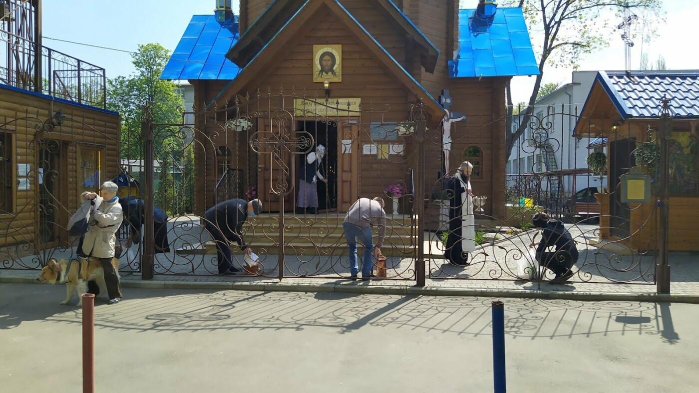 Пасха во время карантина в Одессе., Корреспондент 048.ua Александр Жирносенко.
