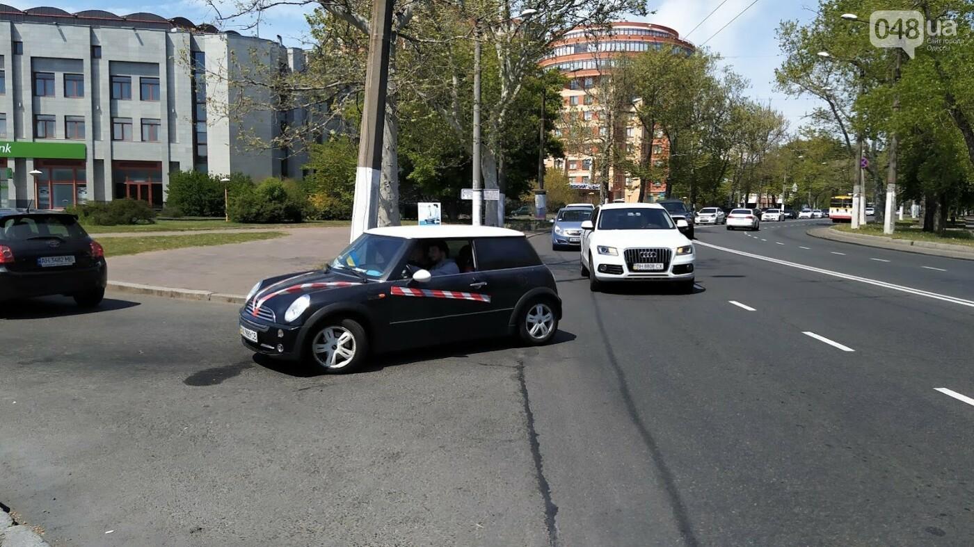 Автопробег против застройки Одесских склонов.