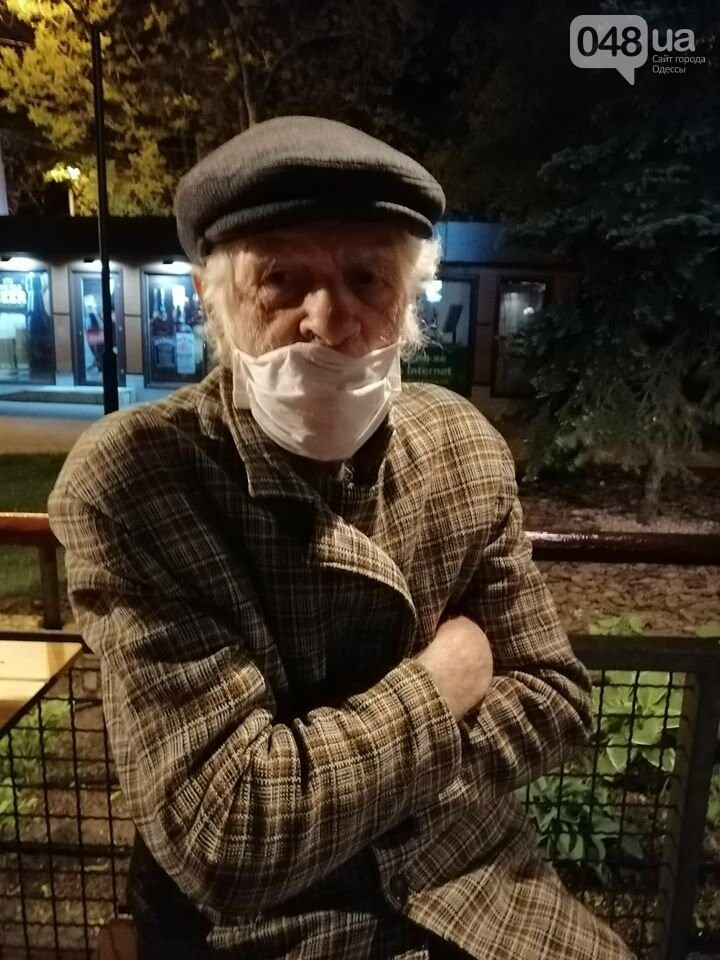 Возле вокзала в Одессе нашли 80-летнего мужчину: он не помнит свой адрес, - ФОТО, фото-1