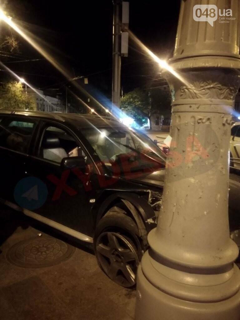 Сегодня ночью в Одессе произошли два серьезных ДТП,- ФОТО, фото-3