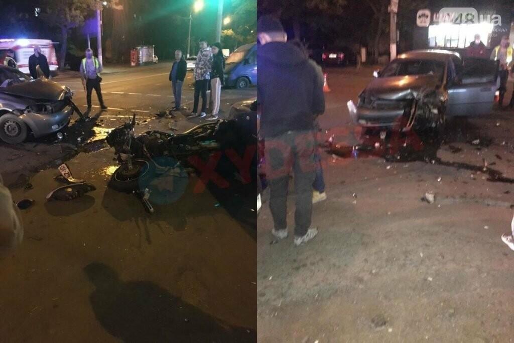 Сегодня ночью в Одессе произошли два серьезных ДТП,- ФОТО, фото-1