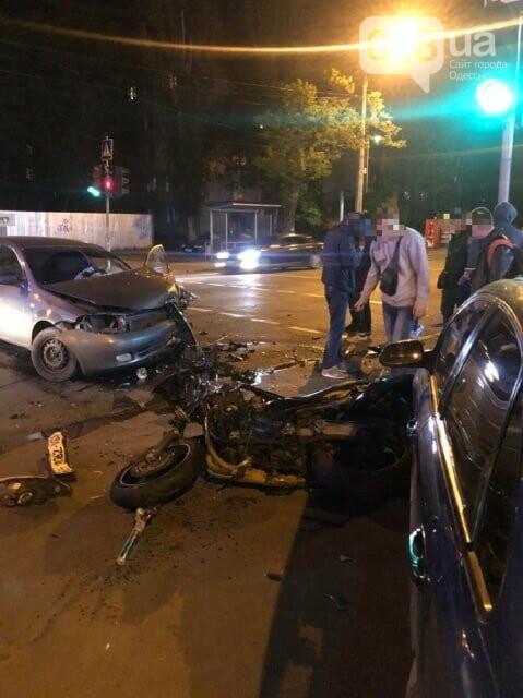 Сегодня ночью в Одессе произошли два серьезных ДТП,- ФОТО, фото-2