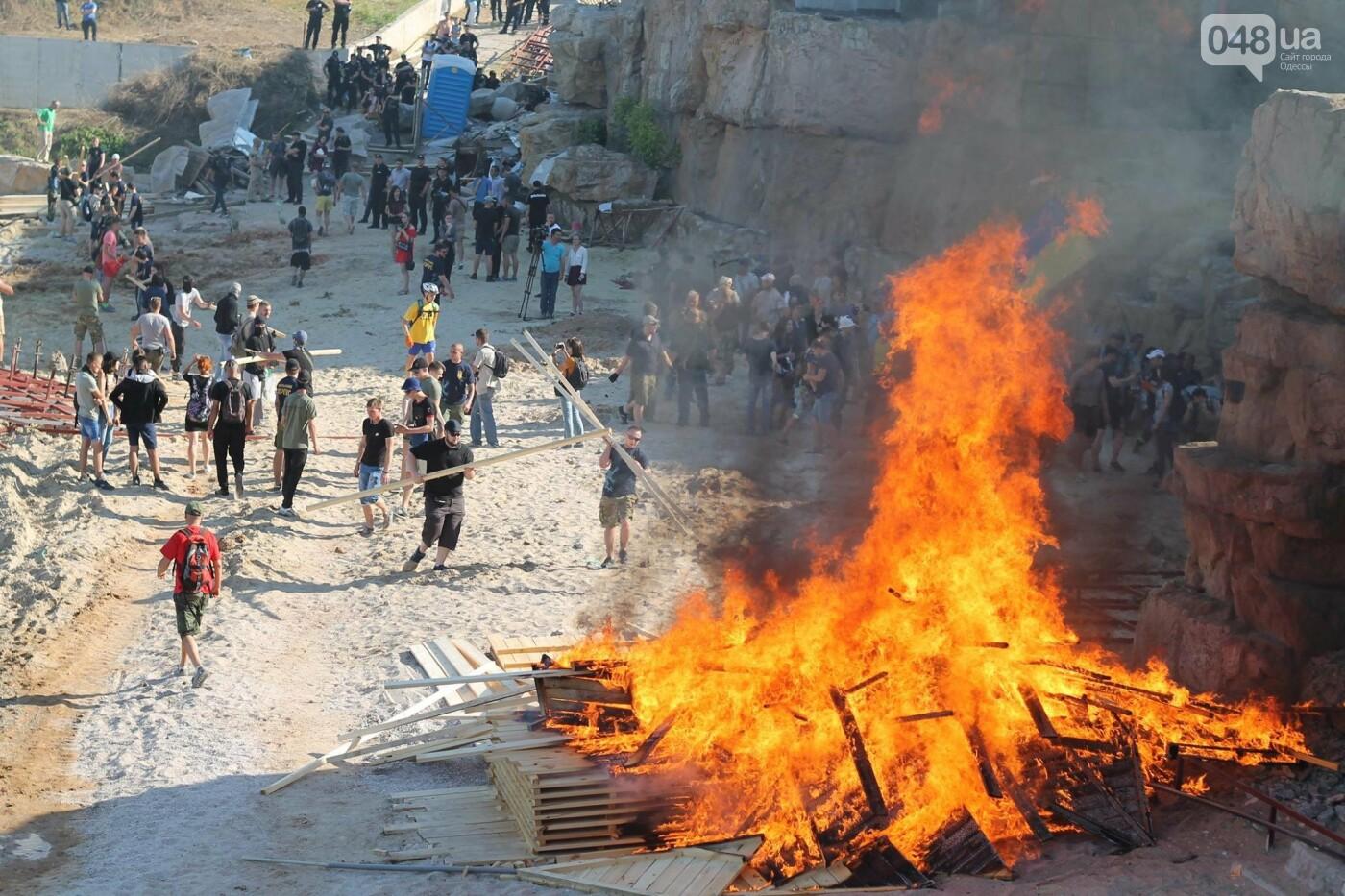 """В Одессе пляж """"Лагуна"""" на территории пансионата """"Зеленый берег"""" снова пытаются сделать платным,- ФОТО, фото-19"""
