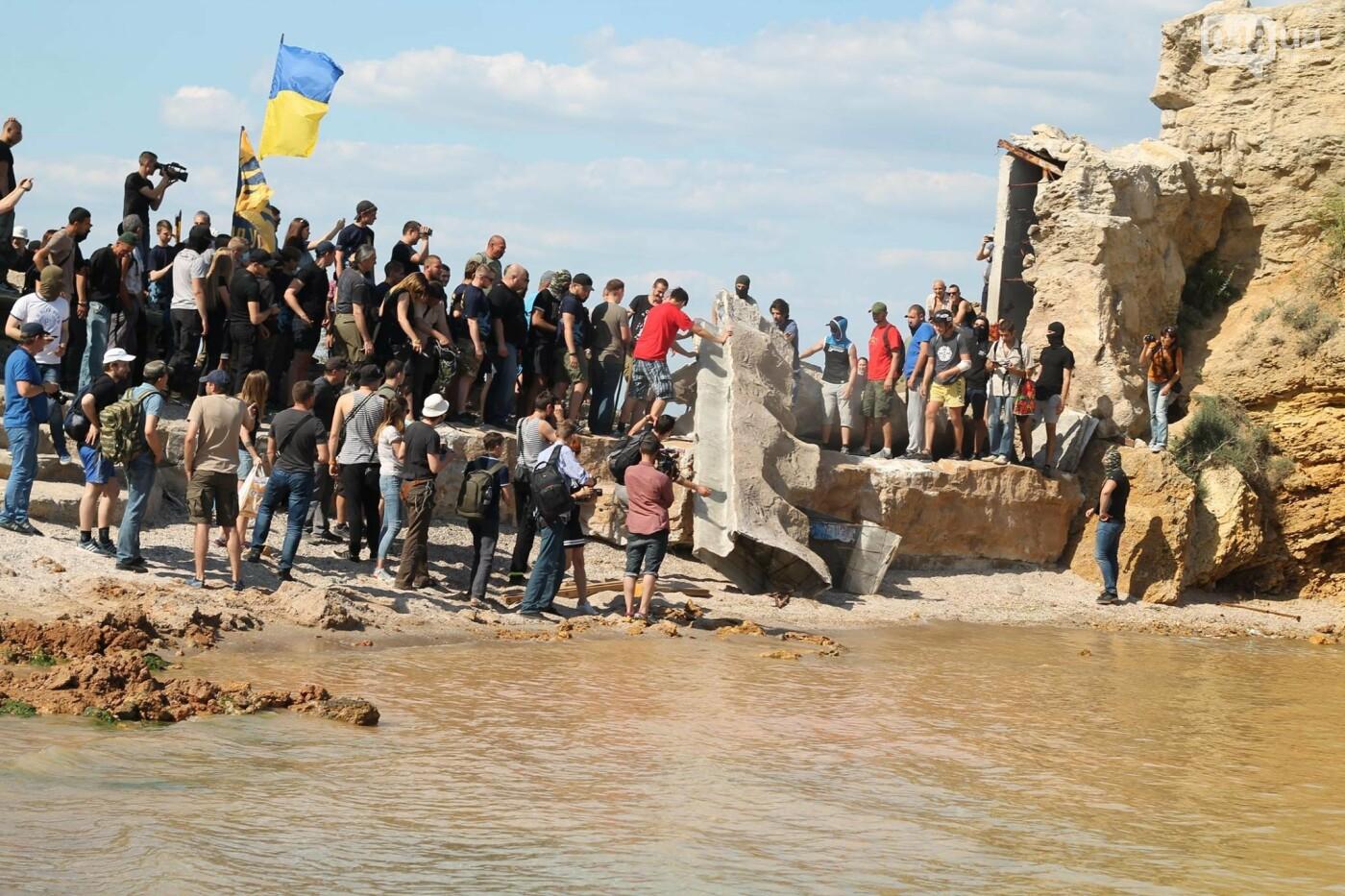 """В Одессе пляж """"Лагуна"""" на территории пансионата """"Зеленый берег"""" снова пытаются сделать платным,- ФОТО, фото-17"""