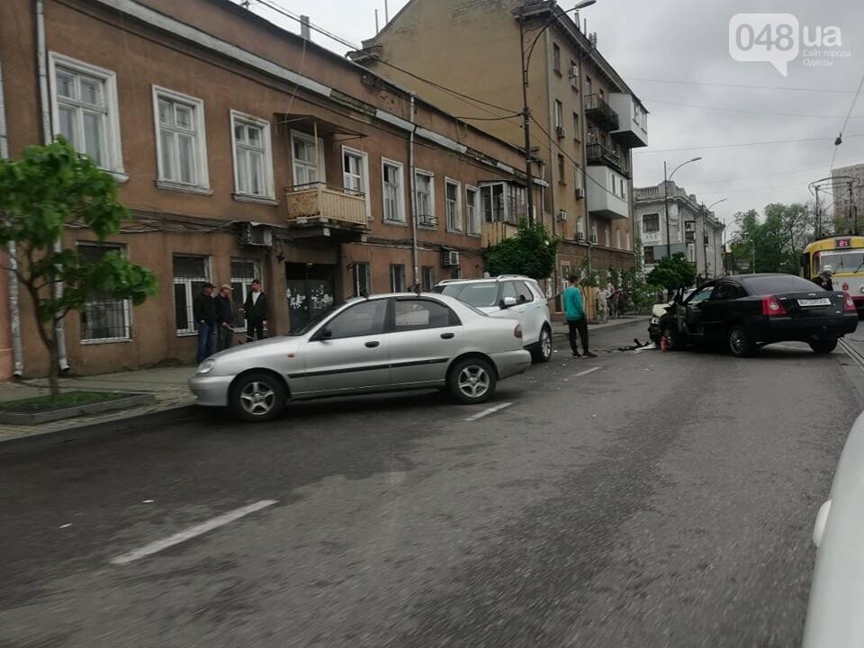 В центре Одессы произошло тройное ДТП, - ФОТО, фото-2
