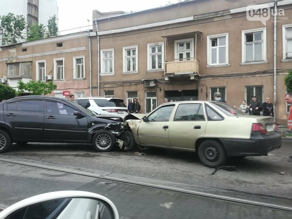 В центре Одессы произошло тройное ДТП, - ФОТО, фото-3