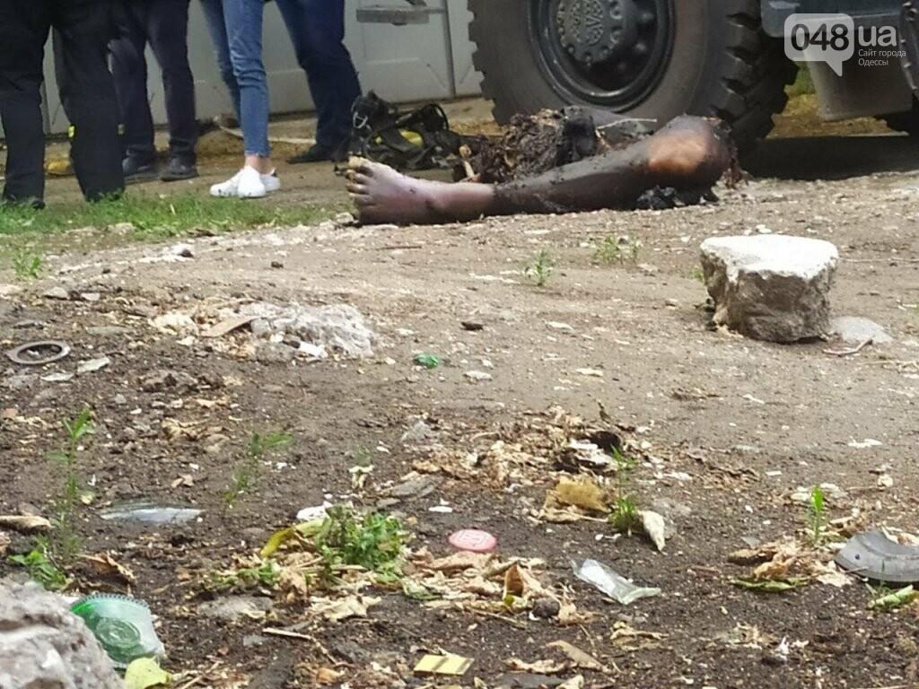 В Одессе на Черемушках нашли обгоревшую ногу,- ФОТО 18+, фото-2