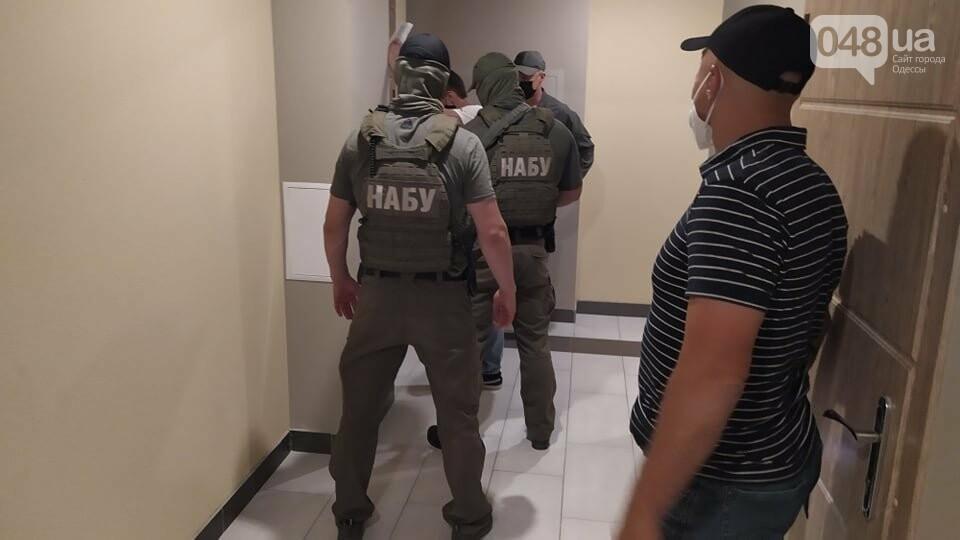 Обыски НАБУ в Одессе., Корреспондент 048.ua Александр Жирносенко.