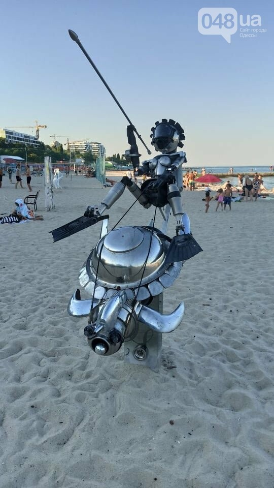 """Бесплатное искусство на бесплатном пляже: В Одессе проходит фестиваль """"Солнечное сердце"""",- ФОТО, фото-5"""