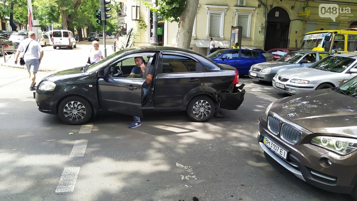Даниэль Салем в Одессе попал в ДТП., ФОТО: Александр Жирносенко