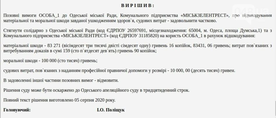 Одессит отсудил у мэрии 200 тысяч гривен, фото-1