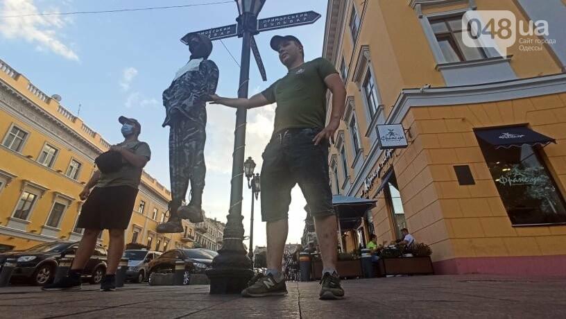 Одесситы вышли на митинг, чтобы поддержать протестующих в Беларуси,- ФОТО, ВИДЕО, фото-12