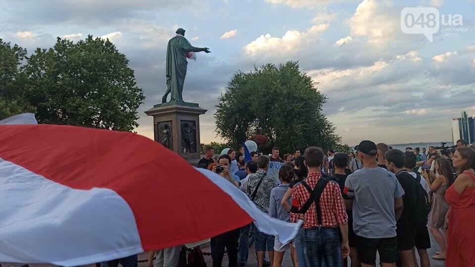 Одесситы вышли на митинг, чтобы поддержать протестующих в Беларуси,- ФОТО, ВИДЕО, фото-8