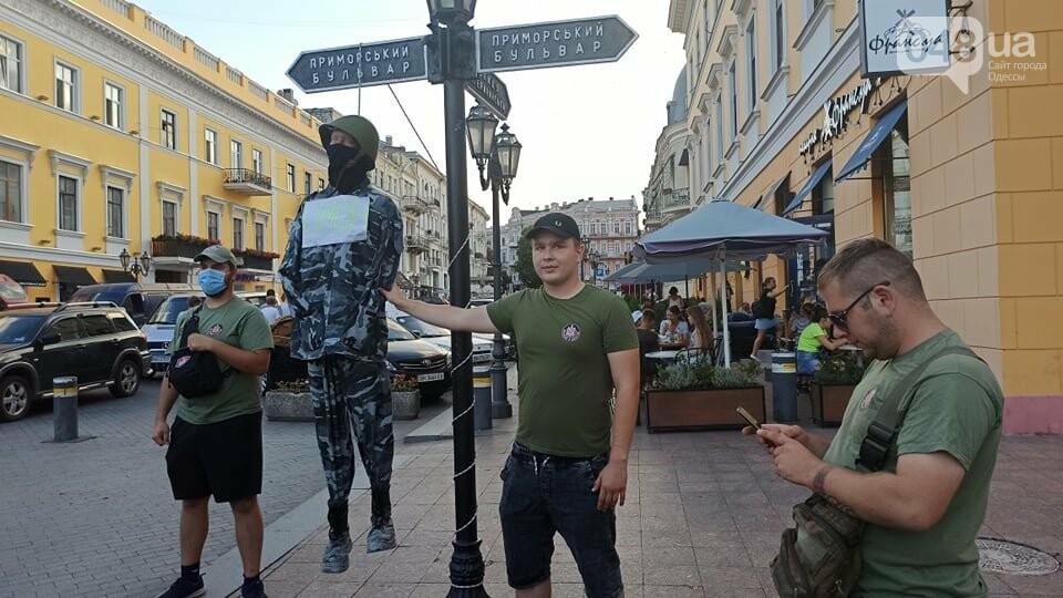 Одесситы вышли на митинг, чтобы поддержать протестующих в Беларуси,- ФОТО, ВИДЕО, фото-7