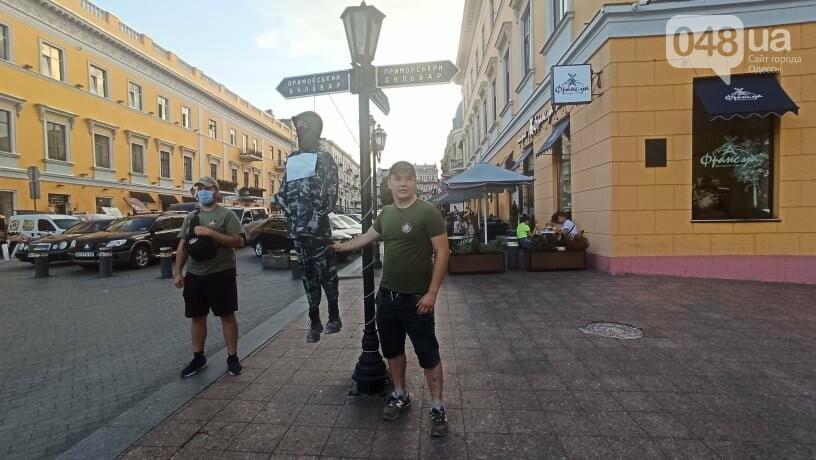 Одесситы вышли на митинг, чтобы поддержать протестующих в Беларуси,- ФОТО, ВИДЕО, фото-14