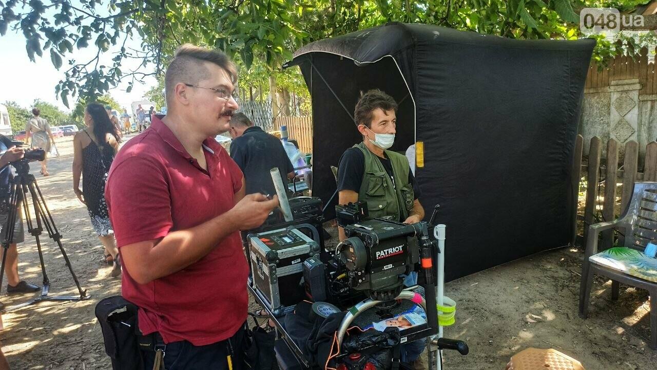 Режиссер рассказал, почему фильм о военном Мариуполе снимают в Одессе ,- ФОТОРЕПОРТАЖ, фото-9