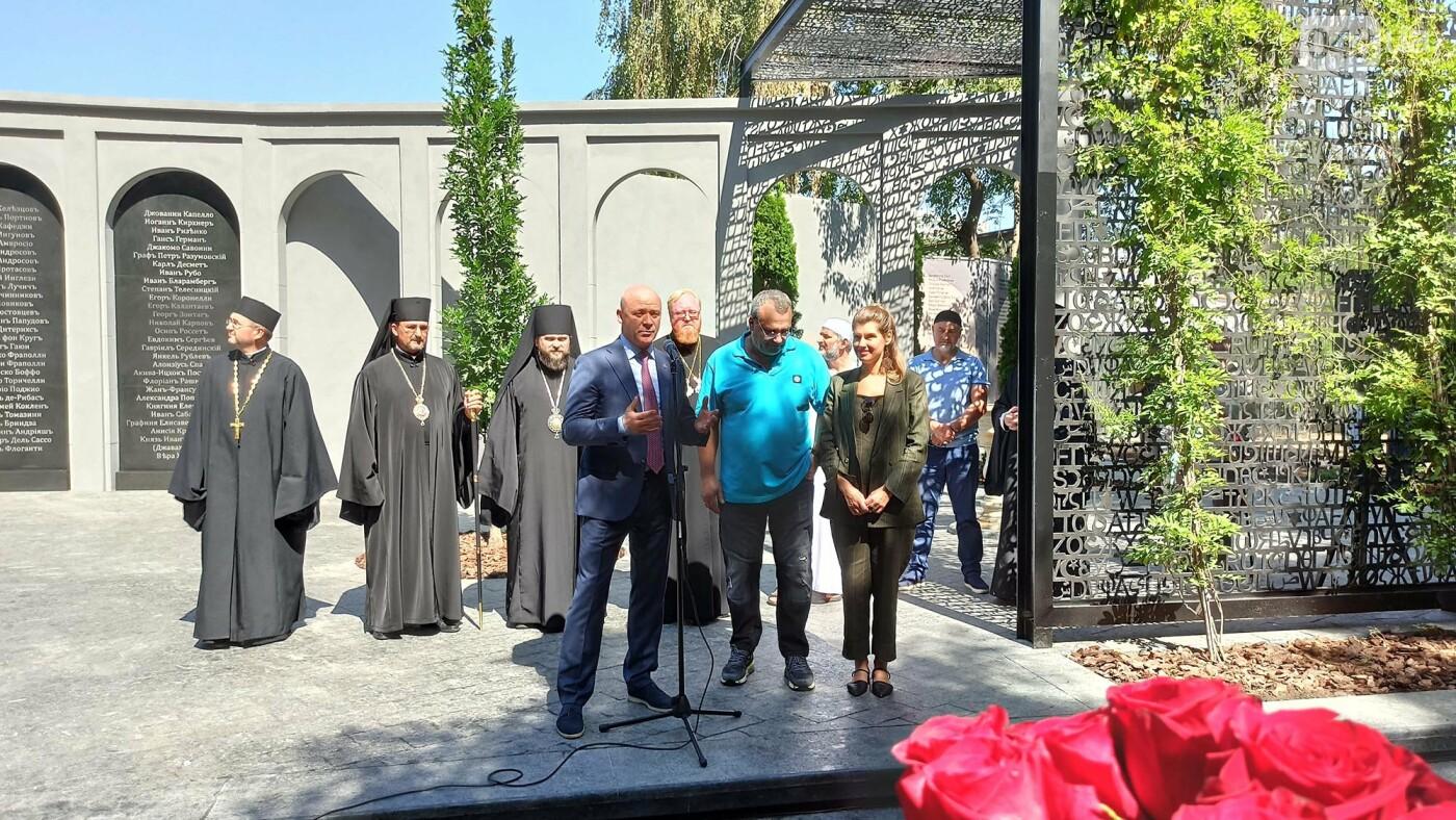 В Одессе на Первом кладбище открыли памятный мемориал,- ФОТОРЕПОРТАЖ, фото-8