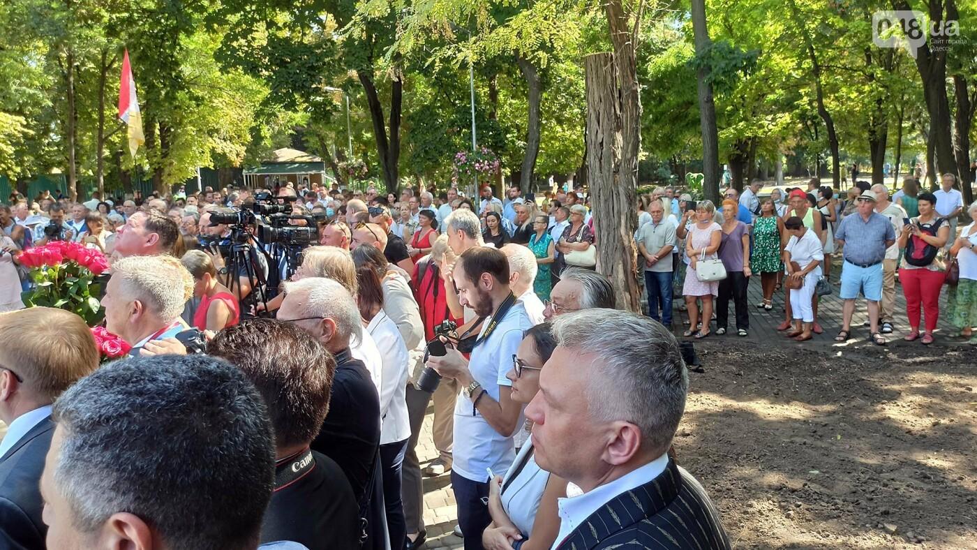 В Одессе на Первом кладбище открыли памятный мемориал,- ФОТОРЕПОРТАЖ, фото-9