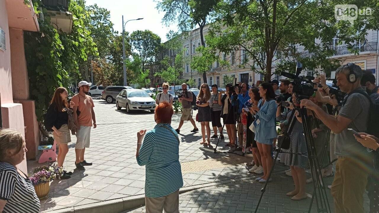 В Одессе установили памятную табличку по мотивам произведений Бабеля, - ФОТО, фото-4