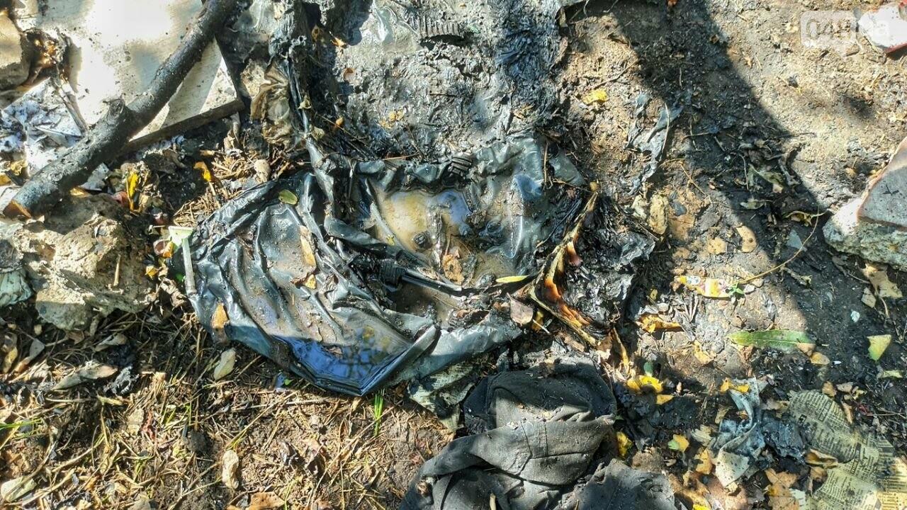 В Одессе возле Ланжерона горел кемпинг бездомных, - ФОТО4