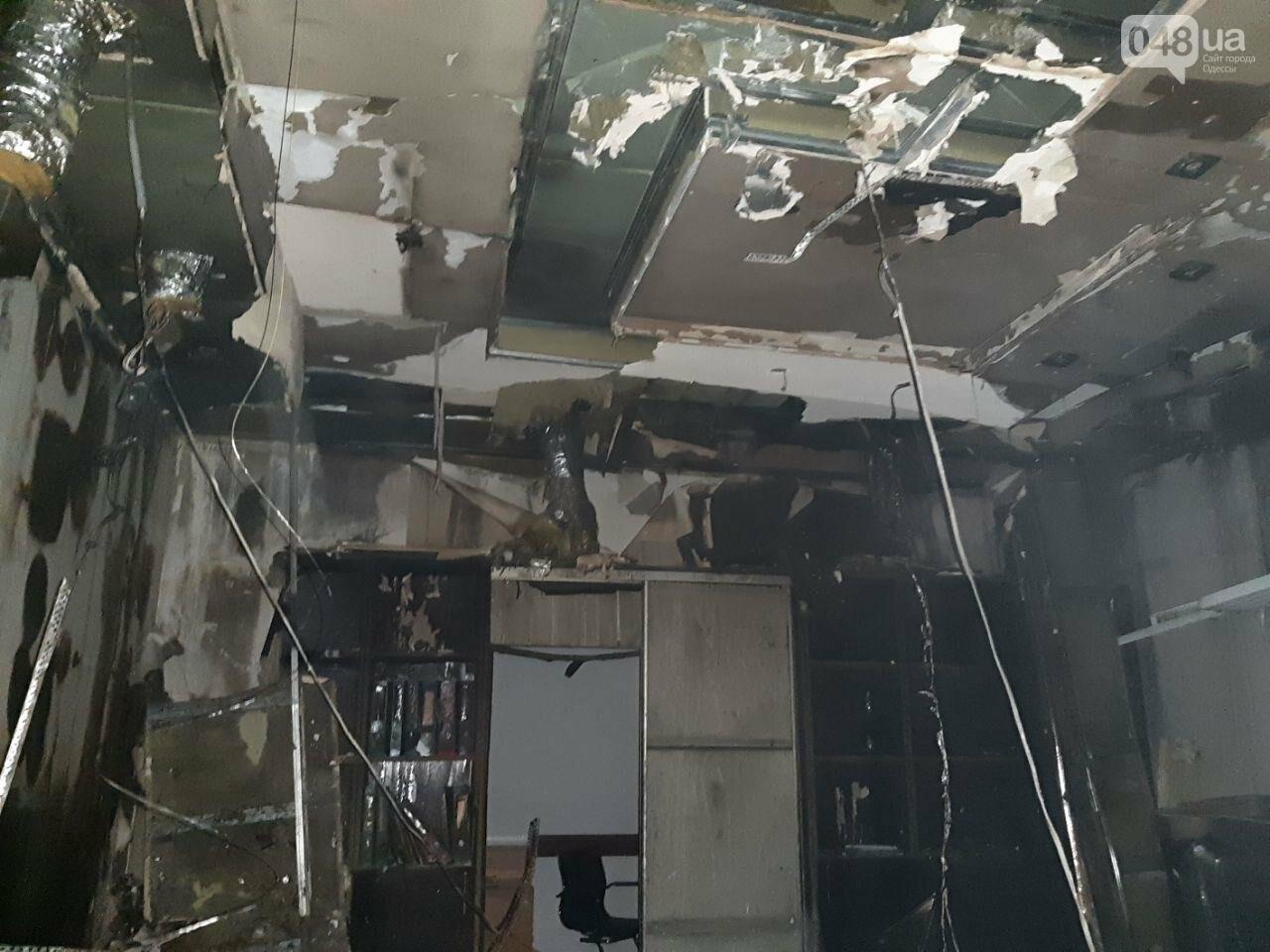 В Одессе горел завод, на котором лепят пельмени,- ФОТО1