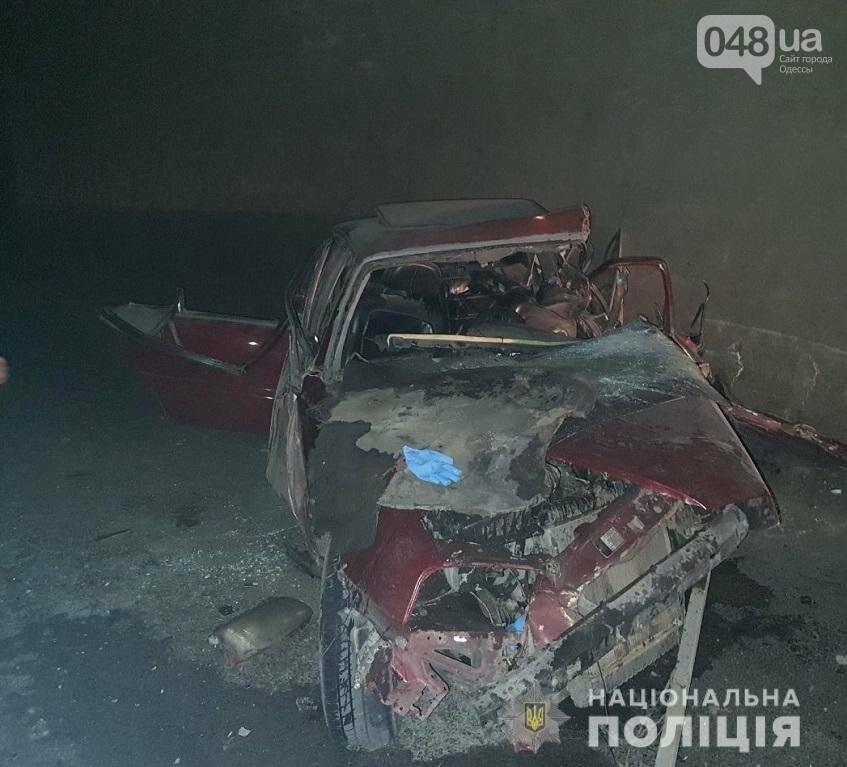 Вблизи Одессы произошло ДТП в туннеле, водитель погиб,- ФОТО, ДОПОЛНЕНО, фото-1