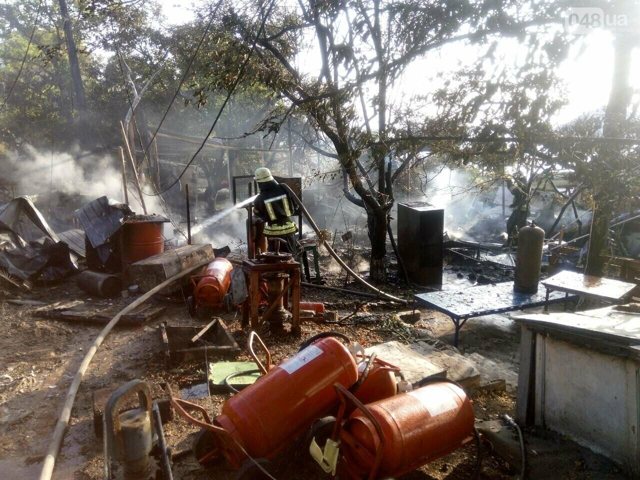 В Одессе случился масштабный пожар: горели рыбацкие домики, - ФОТО5