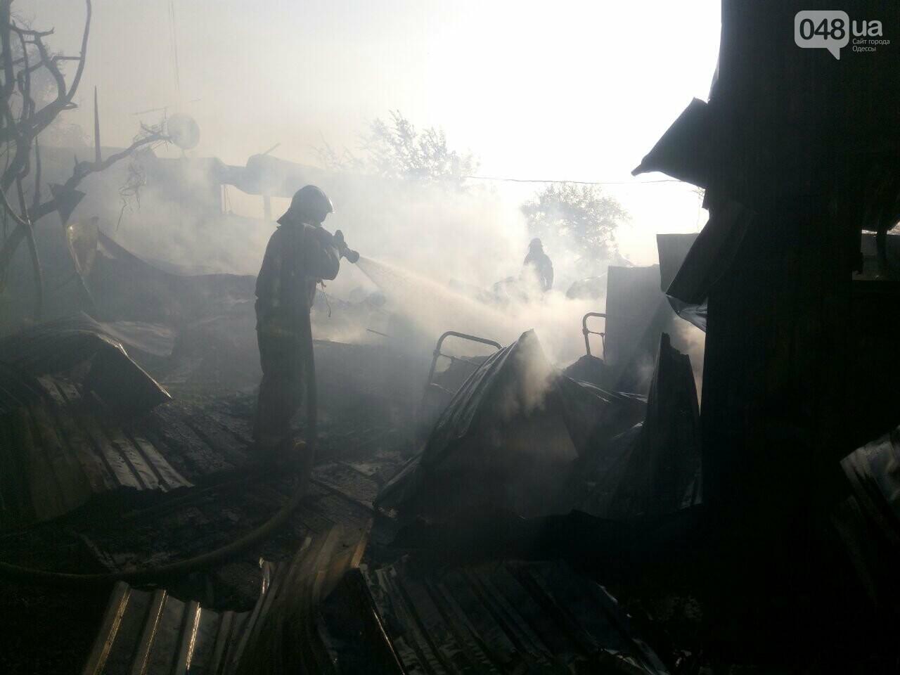 В Одессе случился масштабный пожар: горели рыбацкие домики, - ФОТО4